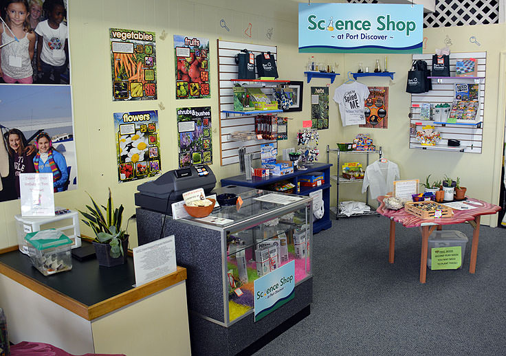 The Science Shop at Port Discover in Elizabeth City, NC