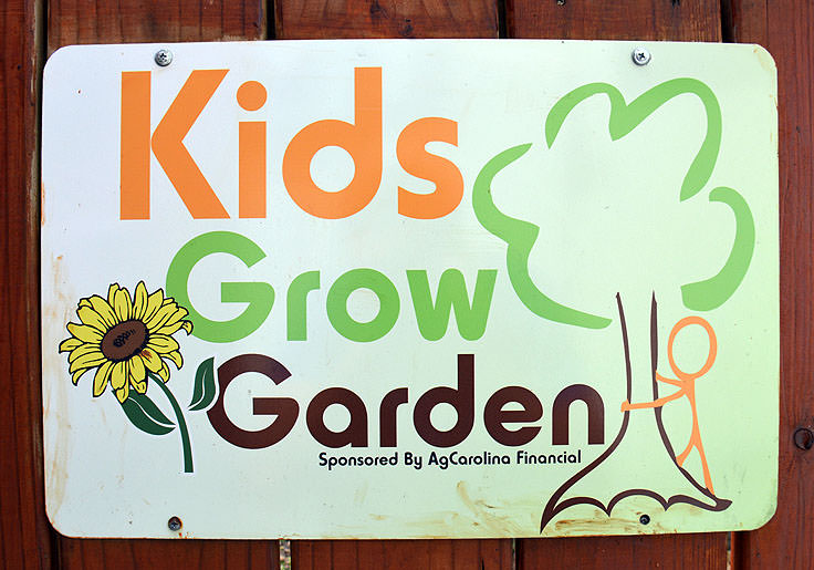 The Kids Grow Garden at Port Discover in Elizabeth City, NC