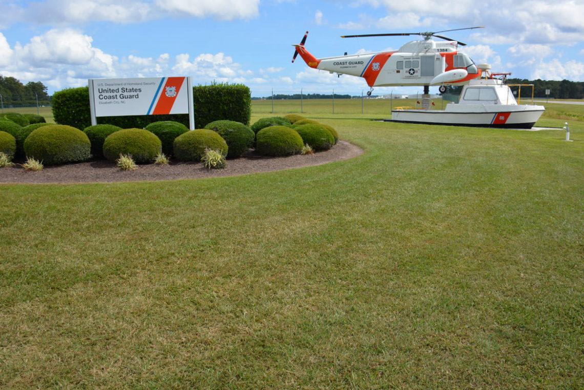 US Coast Guard Air Station Elizabeth City ElizCitycom - Us coast guard bases map
